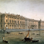 part 13 Hermitage - Charlemagne, Joseph I.. View of the Winter Palace from the Neva