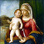 Cima da Conegliano, Giovanni Battista. Madonna and Child, part 13 Hermitage
