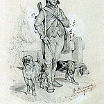 part 13 Hermitage - Hanneken, G.. Etude soldier with dogs