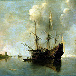 part 13 Hermitage - Ertfelt, Andris van. Two ships at anchor
