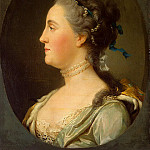 Eriksen, Virgilius. Portrait of Catherine II in profile, part 13 Hermitage