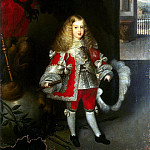 Herrera Barnuevo, Sebastian. Portrait of Charles II in childhood, part 13 Hermitage
