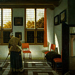 Elinga Janssens, Peter. Room in a Dutch House, part 13 Hermitage