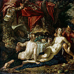 Eyteval, Joachim. Lot and his daughters (), Joachim Wtewael
