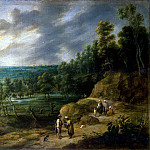 adjust it, Lucas van. Landscape with a fortune-teller, part 13 Hermitage