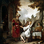 Ekhaut, Gerbrandt Jansz van den. Abraham and three angels, part 13 Hermitage