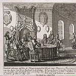 Schenk, Peter. The signing of a peace treaty in Nishtadte August 20, 1721, part 13 Hermitage