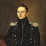 Yakovlev, Gregory. Portrait of MN Lermontov, part 13 Hermitage