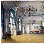 Chernetsov Nikanor Grigorievich. Types of rooms in the Winter Palace. Admission of Alexander II, part 13 Hermitage