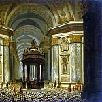 Ehrenberg, Wilhelm van. Internal view of the church, part 13 Hermitage