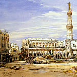Hildebrandt, Eduard. Grand Mosque in Alexandria, part 13 Hermitage