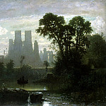 Hecht, Guillaume Victor van der. The ruins of Kenilworth Castle, part 13 Hermitage