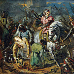 part 13 Hermitage - Sheffer, Ari. The death of Gaston de Foix in the Battle of Ravenna, 11 April 1512