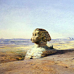 Hildebrandt, Eduard. Big Cfinks the pyramids of Giza, Eduard Hildebrandt