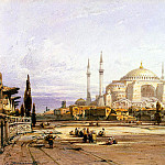 Hildebrandt, Eduard. Church of St.. Sophia in Constantinople, part 13 Hermitage
