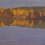 Järnefelt Eero Nicolai. Autumn landscape with river, part 13 Hermitage