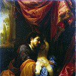 Escalante, Juan Antonio de Frías. St. Joseph with the Christ child, part 13 Hermitage