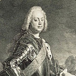 Schmidt, Georg Friedrich. Portrait of Prince Christian August of Anhalt-Tserbskogo, part 13 Hermitage