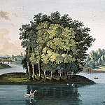 Shchedrin, Simon F.. Island on the big pond in the Park, part 13 Hermitage