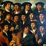 Jacobs, Dirk. Group Portrait Corporation of Amsterdam shooters, part 13 Hermitage