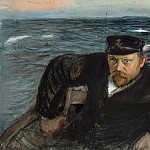 part 13 Hermitage - Enkel, Knut Magnus. The sailor at the wheel in the sea. Pilot