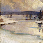 part 13 Hermitage - Halonen, Pekka. Winter landscape