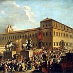 Chiochi, Antonio. Festival at the Quirinal Palace, part 13 Hermitage
