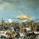 Hess, Peter von. Crossing of the Berezina, Peter Von Hess