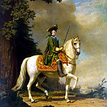 Eriksen, Virgilius. Catherine II on horseback, part 13 Hermitage