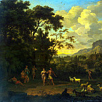 part 13 Hermitage - Heysh, Jacob de. Landscape with dancing shepherds