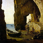 Shchedrin, Sylvester Fedosevich. Kind of a grotto in Sorrento, part 13 Hermitage