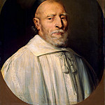 part 13 Hermitage - Shampen, Philippe de. Portrait of a cleric