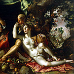 Eyteval, Joachim. Lot and his daughters, Joachim Wtewael