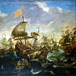 Ertfelt, Andris van. Sea battle, part 13 Hermitage