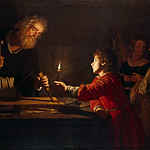 Honthorst, Gerrit van. Childhood of Christ, part 13 Hermitage