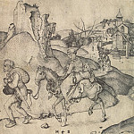 part 13 Hermitage - Schongauer, Martin. Peasant Family on their way to market