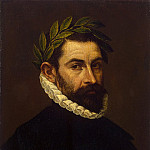 El Greco. Portrait of the Poet Alonso Ercil-and-Zúñiga, part 13 Hermitage