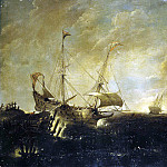 Ertfelt, Andris van. Storm at Sea, part 13 Hermitage