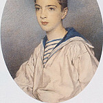 Etlingera, Maria. Portrait of Grand Duke Alexander Mikhailovich in his youth, part 13 Hermitage