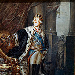 part 13 Hermitage - Shchukin Stepan Semenovich. Portrait of Paul I in the crown of Grand Master of Malta