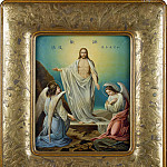 part 13 Hermitage - Yamashita, Rin. Icon of the Resurrection of Christ. On the back of the temple of the Resurrection in Tokyo and the inscription