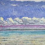 Hodler, Ferdinand. Lake, part 13 Hermitage