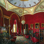 Hau Edward Petrovich – Types of rooms of the Winter Palace. Study of Empress Alexandra Feodorovna, part 03 Hermitage