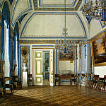 Hau Edward Petrovich – Types of rooms of the Winter Palace. Receiving an heir, Grand Duke Alexander Nikolaevich, part 03 Hermitage