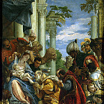 Veronese, Paolo – The Adoration of the Magi, part 03 Hermitage