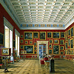 Hau Edward Petrovich – Types halls of the New Hermitage. Hall of Dutch and Flemish schools, part 03 Hermitage