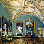 Hau Edward Petrovich – Types of rooms of the Winter Palace. The first hall of the Military Gallery, part 03 Hermitage