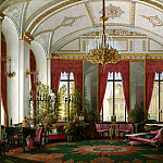 part 03 Hermitage - Hau Edward Petrovich - Types of rooms of the Winter Palace. Raspberry study of Empress Maria Alexandrovna