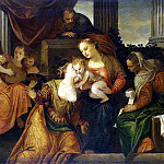 Veronese, Paolo – Betrothal of St. Catherine, part 03 Hermitage
