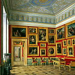 part 03 Hermitage - Hau Edward Petrovich - Types halls of the New Hermitage. Cabinet of the Italian schools (2)